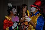 DANIELA MARTANI<br /> PARTY DI PAOLO PAZZAGLIA<br /> PALAZZO FERRAJOLI ROMA 2009