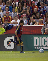 Real Salt Lake forward Fabian Espindola (16) . Real Salt Lake tied the Colorado Rockies, 1-1, at Rio Tinto Stadium on June 6, 2009.