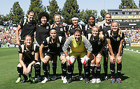FC Gold Pride Starting Eleven. FC Gold Pride defeated the Boston Breakers 2-1 at Buck Shaw Stadium in Santa Clara, California on April 5th, 2009. Photo by Kelley Cox /isiphotos.com