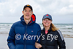 Enjoying a stroll in Ballybunion on Saturday, l to r: Ogie and Kathleen Sheehy.