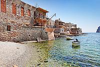 Gerolimenas is a traditional fishing village in Mani, Greece