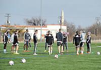D.C. United Training, January 24, 2015