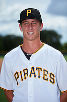 GCL Pirates pitcher Travis MacGregor (70) poses for a photo after a game against the GCL Yankees East on August 15, 2016 at the Pirate City in Bradenton, Florida.  GCL Pirates defeated GCL Yankees East 5-2.  (Mike Janes/Four Seam Images)
