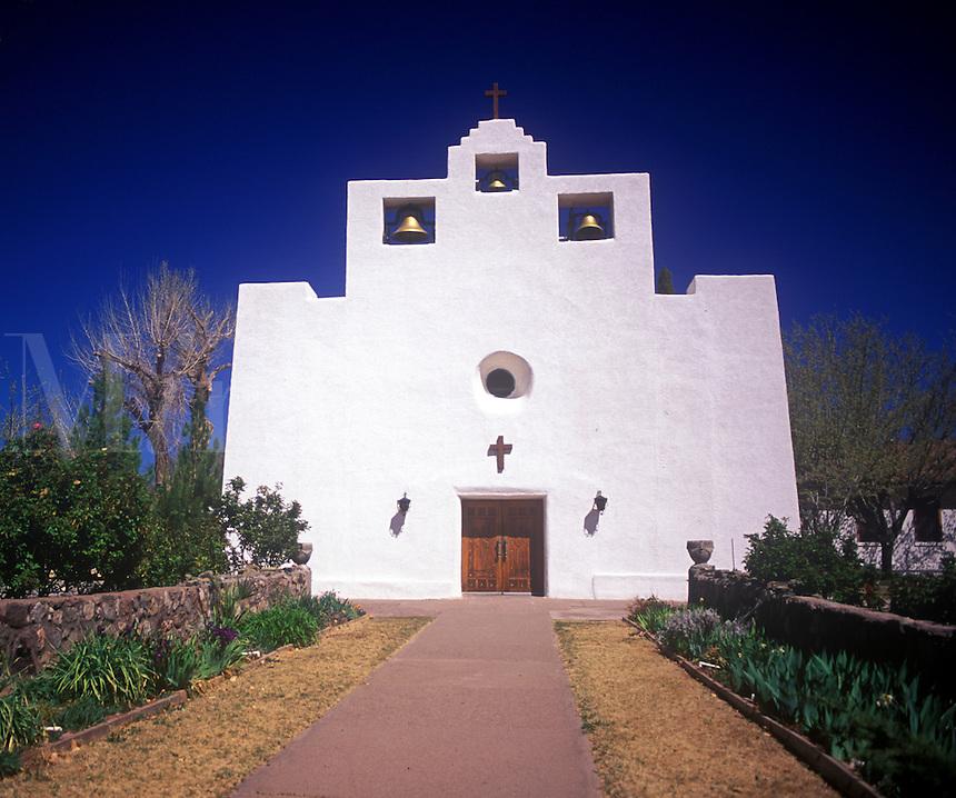 Franciscan mission, Tularosa, New Mexico