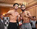 Boxing : Weigh-in for WBC bantamweight title bout