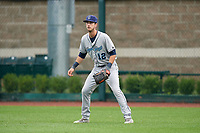Corpus Christi Hooks right fielder Kyle Tucker (12) during a game against the Springfield Cardinals on May 31, 2017 at Hammons Field in Springfield, Missouri.  Springfield defeated Corpus Christi 5-4.  (Mike Janes/Four Seam Images)