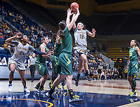 Hind Ben Adbelkader of California shoots for the basket against Oregon at Haas Pavilion in Berkeley, California on January 5th, 2014. California defeated Oregon