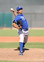 Derrick Saito / Kansas City Royals 2008 Instructional League..Photo by:  Bill Mitchell/Four Seam Images