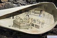 Walfangmuseum in Lajes auf der Insel Pico, Azoren, Portugal