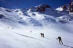 Ski ascent of Tizi Likemt (3600), High Atlas, Morocco, 2017