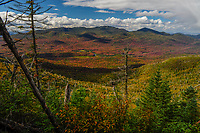 View From Couchsachraga Peak Looking Towards Cold River Country In The Adirondack Mountains Of New York State