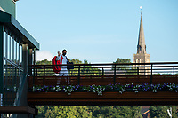 9th July 2021, Wimbledon, SW London, England; Wimbledon Tennis Championships, day 9;  Roger Federer (Sui) leaves the courts
