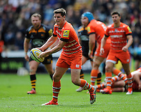 Freddie Burns of Leicester Tigers in action