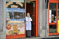 - Milan, Turkish food store in  Vitruvio Street<br /> <br /> - Milano, negozio di cibi turchi in via Vitruvio