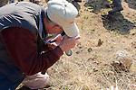 George Bensen with Leopard Tortoise