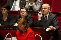 French Interior Minister Bruno Le Roux attends at the National Assembly in Paris, France, December 13, 2016. # BERNARD CAZENEUVE PRONONCE SON DISCOURS DE POLITIQUE GENERALE