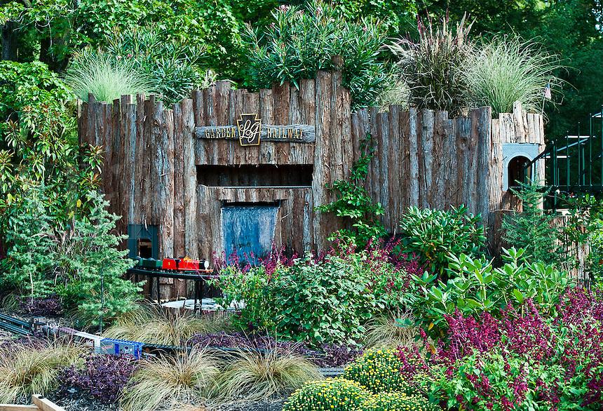 Longwood Gardens model train garden.