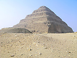 The Step Pyramid of Djoser at the Egyptian burial ground of Sakkara near Cairo, Egypt.