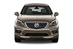 Car photography straight front view of a 2018 Buick Envision Premium-II-AWD 5 Door SUV Front View