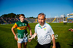 Gavin White, Kerry, Kerry Manager Peter Keane after the Munster GAA Football Senior Championship Final match between Kerry and Cork at Fitzgerald Stadium in Killarney on Sunday.