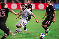 LAKE BUENA VISTA, FL - JULY 14: IIsinho #25 of the Philadelphia Union dribbles the ball during a game between Inter Miami CF and Philadelphia Union at Wide World of Sports on July 14, 2020 in Lake Buena Vista, Florida.