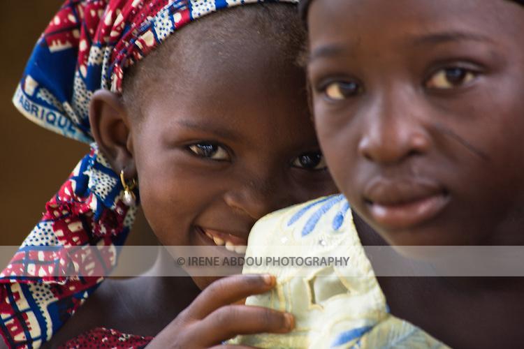 Children in a village near Abuja, Nigeria.