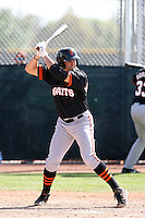 Eddy Martinez-Esteve, San Francisco Giants 2010 minor league spring training..Photo by:  Bill Mitchell/Four Seam Images.