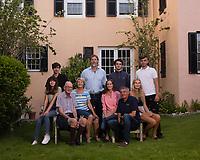 Marion Jones family