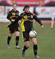 France U19 - Belgium U19 : Laura De Neve.foto DAVID CATRY / Nikonpro.be