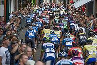 Start in Aarschot<br /> <br /> 2nd Dwars door het Hageland 2017 (UCI 1.1)<br /> Aarschot > Diest : 193km