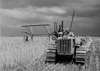 Modern mechanized agriculture