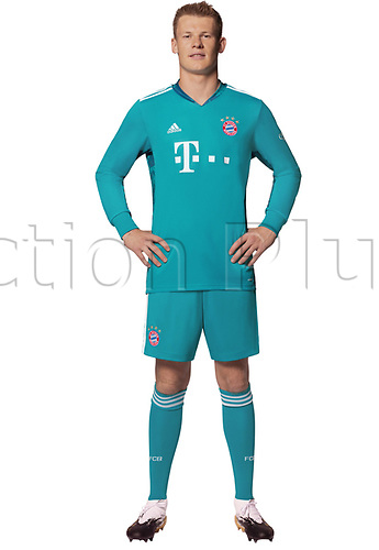 26th October 2020, Munich, Germany; Bayern Munich official seasons portraits for season 2020-21;  Goalkeeper Alexander Nübel