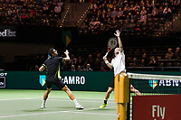Rotterdam, The Netherlands, 17 Februari, 2018, ABNAMRO World Tennis Tournament, Ahoy, Tennis, Semi Final doubles: Mate Pavic (CRO) / Oliver Marach (AUT) (L)<br /> <br /> Photo: www.tennisimages.com