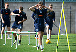 St Johnston Training….28.09.18<br />Ross Callachan pictured during training this morning at McDiarmid Park ahead of tomorrow's game at Hearts<br />Picture by Graeme Hart.<br />Copyright Perthshire Picture Agency<br />Tel: 01738 623350  Mobile: 07990 594431