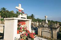 Cuba, Friedhof in Baracoa, Provinz Holguin