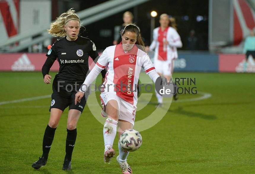 VOETBAL: AMSTERDAM: 05-03-2021, De Toekomst, Eredivisie Vrouwen, AJAX - sc Heerenveen, uitslag 1-1, Vanity Lewerissa, ©foto Martin de Jong