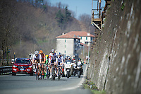 breakaway group on it's way to the Turchino Pass<br /> <br /> 107th Milano-Sanremo 2016