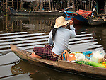 Kampong Phluk - Floating Village on Lake Tonle Sap, Cambodia