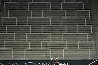 SÃO PAULO,SP, 08.07.2017 - CORINTHIANS-PONTE PRETA – Arquibancada  onde ficam as torcidas organizadas permaneceram fechadas como punição pelo uso de sinalizadores,  durante partida Conrinthians contra a Ponte Preta, jogo válido pela décima segunda rodada do Campeonato Brasileiro 2017, disputada na Arena Corinthians em São Paulo, na noite deste sabado, 08.(Foto: Levi Bianco/Brazil Photo Press)