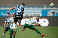 18th November 2020; Arena de Gremio, Porto Alegre, Brazil; Brazil Cup, Gremio versus Cuiaba; Diego Souza of Gremio wins the header and scores his goal in the 10th minute 1-0