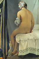 Ingres 1780-1867.  La baigneuse dite, 1808.  Louvre.  Reference only.