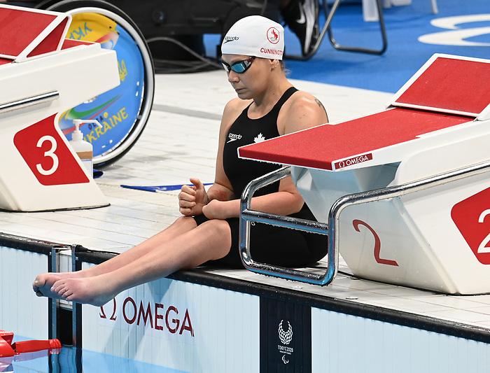 Tammy Cunnington, Tokyo 2020 - Para Swimming // Paranatation.<br /> Tammy Cunnington competes in the Women's 50m Breaststroke - SB3 // Tammy Cunnington participe au 50m brasse féminin - SB3. 08/30/2021.
