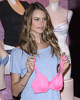 NEW YORK, NY, USA - FEBRUARY 25: Victoria's Secret Supermodel Behati Prinsloo introduces the T-Shirt Bra at Victoria's Secret Herald Square on February 25, 2014 in New York City, New York, United States. (Photo by Jeffery Duran/Celebrity Monitor)