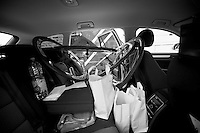Milan-San Remo 2012.raceday.inside team car 1: prepared for 300km of racing.