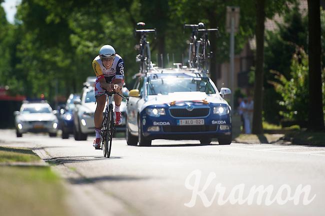 Jonas Van Genechten (BEL)<br /> <br /> Eneco Tour 2013<br /> stage 5: ITT<br /> Sittard-Geleen 13,2km
