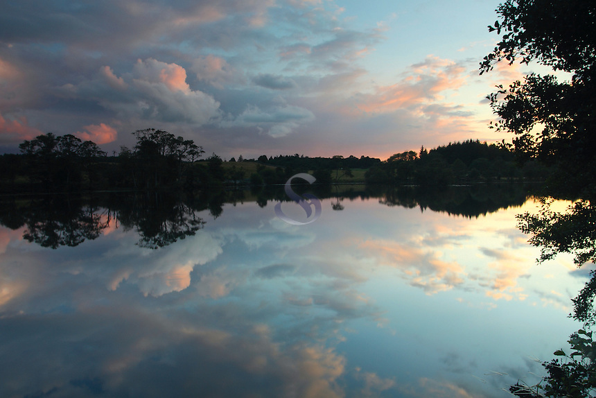 Barean Loch, Dalbeattie Forest, Colvend, Galloway<br /> <br /> Copyright www.scottishhorizons.co.uk/Keith Fergus 2011 All Rights Reserved
