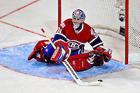 24 January 2009: Montreal Canadiens' goaltender Carey Price makes a save for the Sophomores during the YoungStars Game where the Rookies defeated the Sophomores 9-5 in the NHL SuperSkills Competition, part of the All-Star Weekend at the Bell Centre in Montreal, Quebec, Canada. ***** Editorial Sales Only ***** Mandatory Photo Credit: Ed Wolfstein Photo