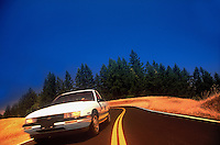 Road and car