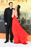 """LONDON, UK. July 30, 2019: Quentin Tarantino & Danielle Tarantino at the UK premiere for """"Once Upon A Time In Hollywood"""" in Leicester Square, London.<br /> Picture: Steve Vas/Featureflash"""
