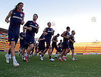 US Men's National Team. Stadium Training prior to FIFA World Cup qualifiers USA vs El Salvador at Estadio Cuscatlán Stadium  on March 27, 2009.